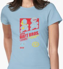 Super Daft Bros. Womens Fitted T-Shirt
