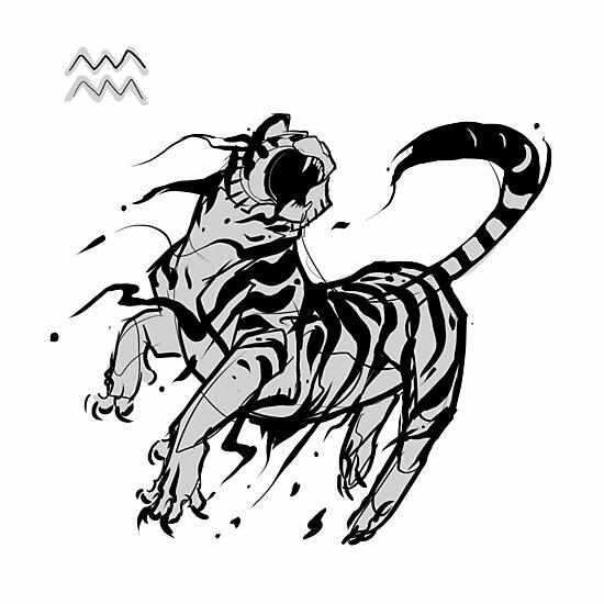 Aquarius tiger