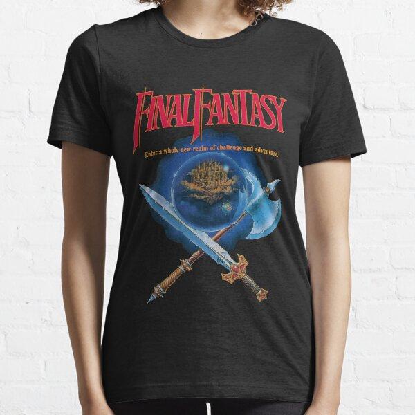 Final Fantasy 1 NES Classic Art Essential T-Shirt