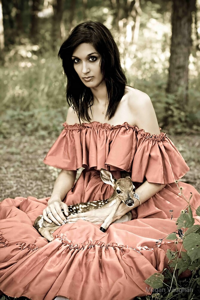 Modern Day Red Riding Hood by Megan Vaughan
