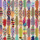 Nahtloser Feder-Muster-Hintergrund von kennasato