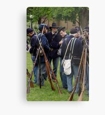 Union Infantry Metal Print
