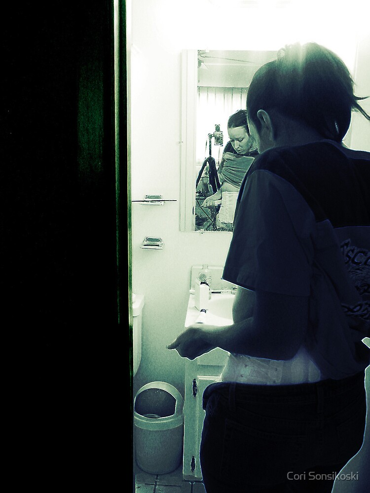 Holy Shit. (Mirror in the Bathroom series) by Cory Monday