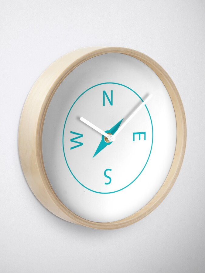 Alternate view of Compass Icon Clock