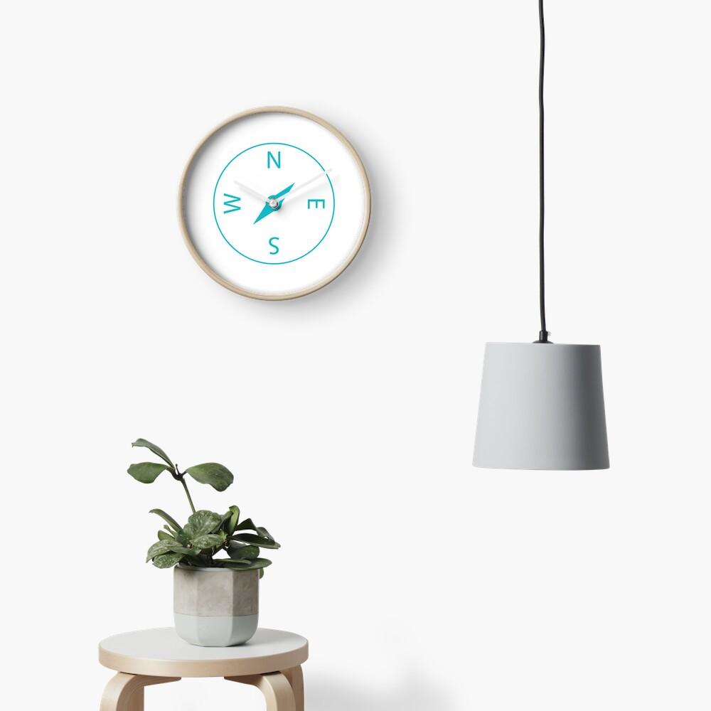 Compass Icon Clock