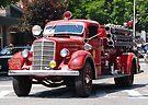 Mack 1938 Fire Truck by John Schneider