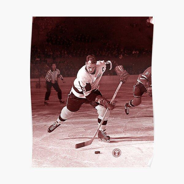 Gordie Howe #9 Poster