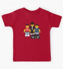 Beastie Boys LEGO mashup Kids T-Shirt