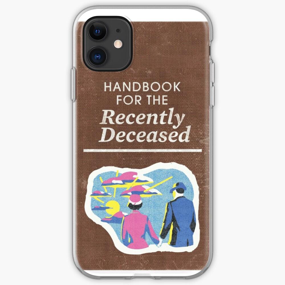 Handbook for the recently deceased iphone 11 case