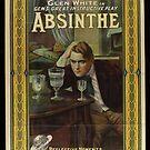 Glen White Absinthe Movie Poster von DigiArtyst