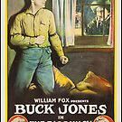 Buck Jones Das große Punschfilmplakat von DigiArtyst