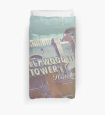 Hollywood Terror Duvet Cover