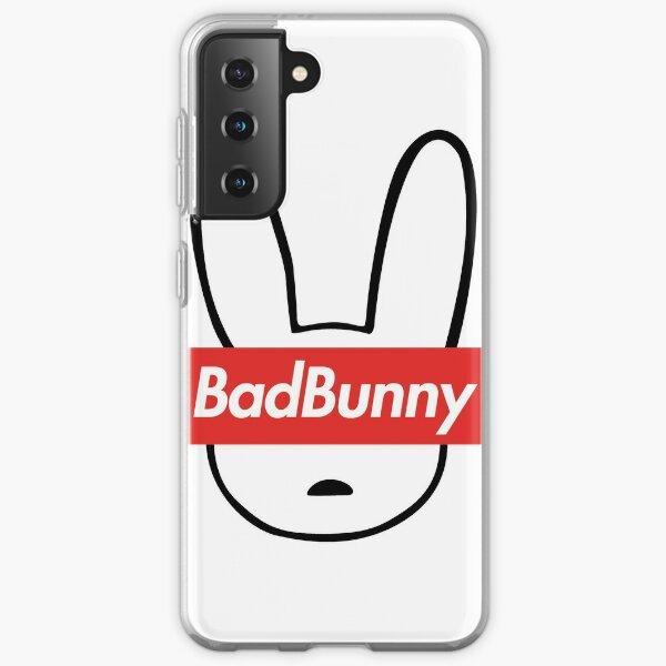 Bad Bunny Sticker - Bad Bunny x100PRE Merch Funda blanda para Samsung Galaxy