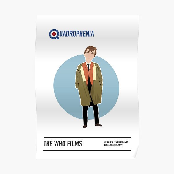 Quadrophenia Movie Poster Póster