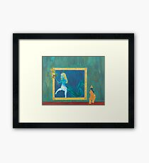 No Barriers Framed Print