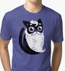 Whiskers Tri-blend T-Shirt