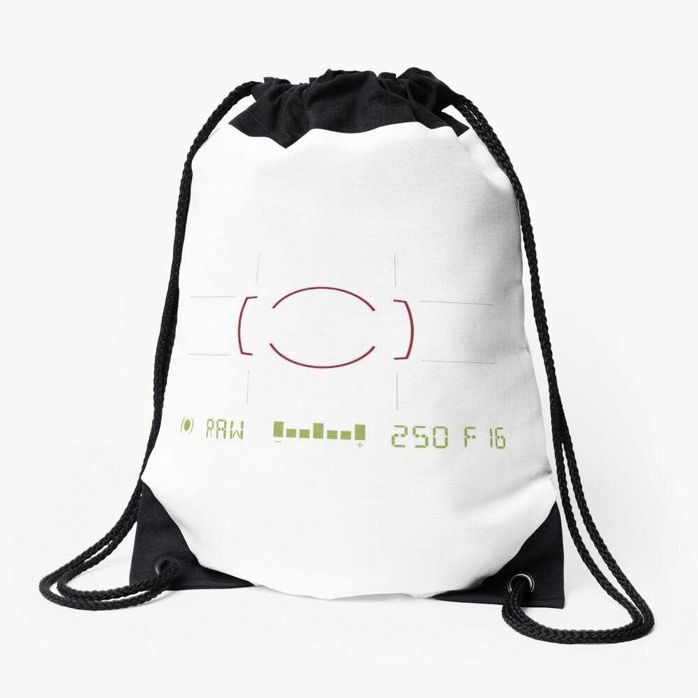 Camera Viewfinder Drawstring Bag