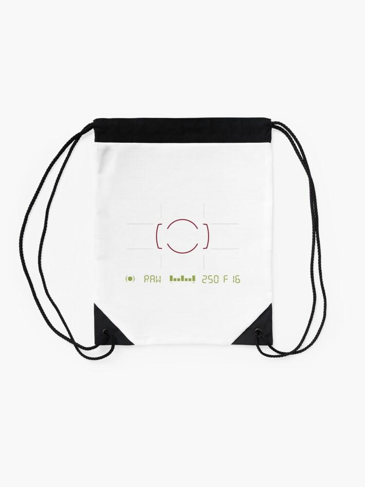 Alternate view of Camera Viewfinder Drawstring Bag