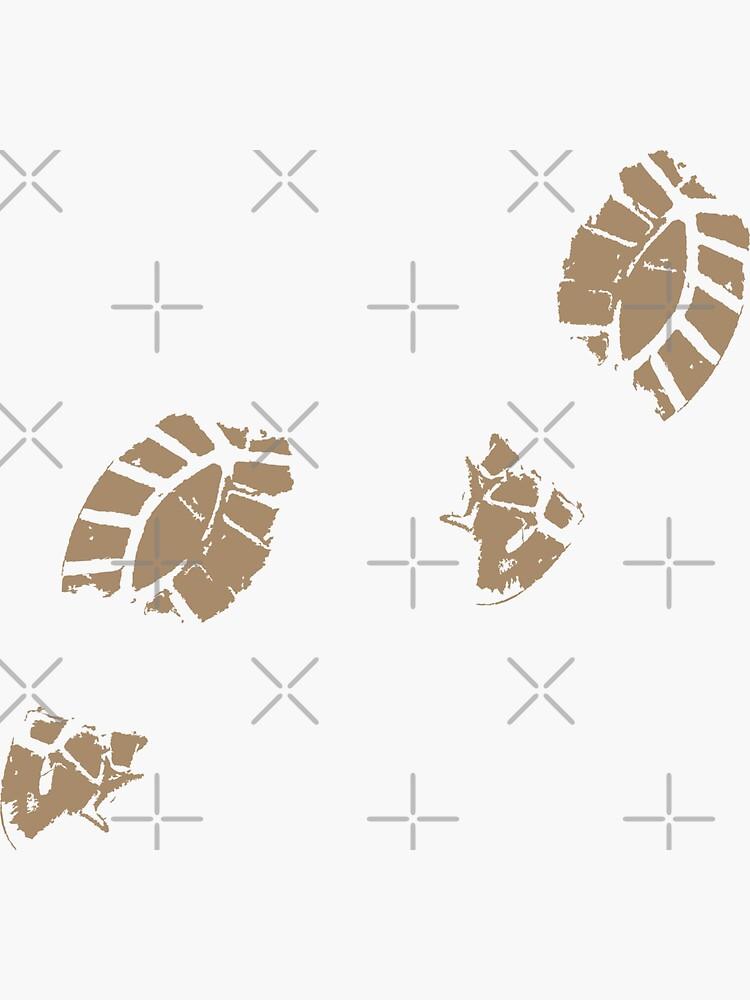 Muddy Footprints by THPStock