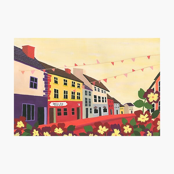 An Evening in Dingle Photographic Print
