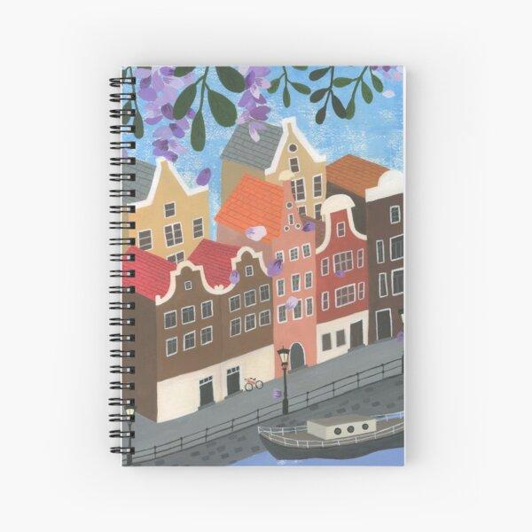 A Day in Amsterdam Spiral Notebook