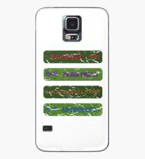 Funda/vinilo para Samsung Galaxy Ninja Turtles