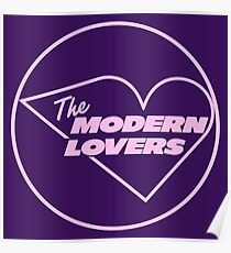 Modernes Liebhaber-T-Shirt Poster