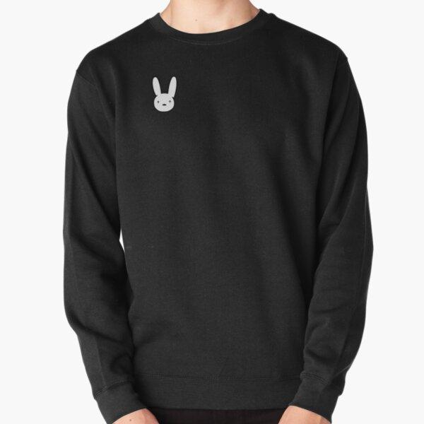 Bad Bunny Sticker Best Quality - Bad Bunny Logo Decal x100PRE Pullover Sweatshirt
