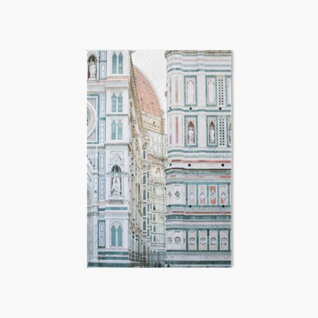 Florence Italy Duomo Photography Art Board Print