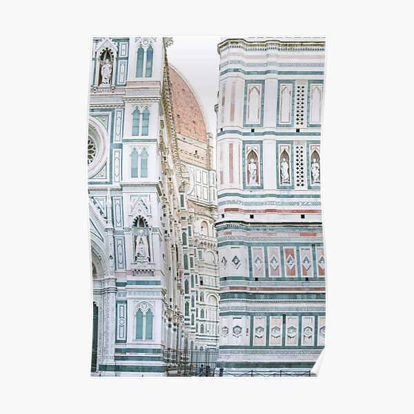 Florence Italy Duomo Photography Poster