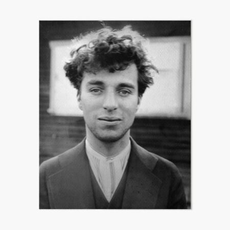 Charlie Chaplin Impression rigide