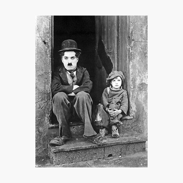 Charlie Chaplin Lámina fotográfica