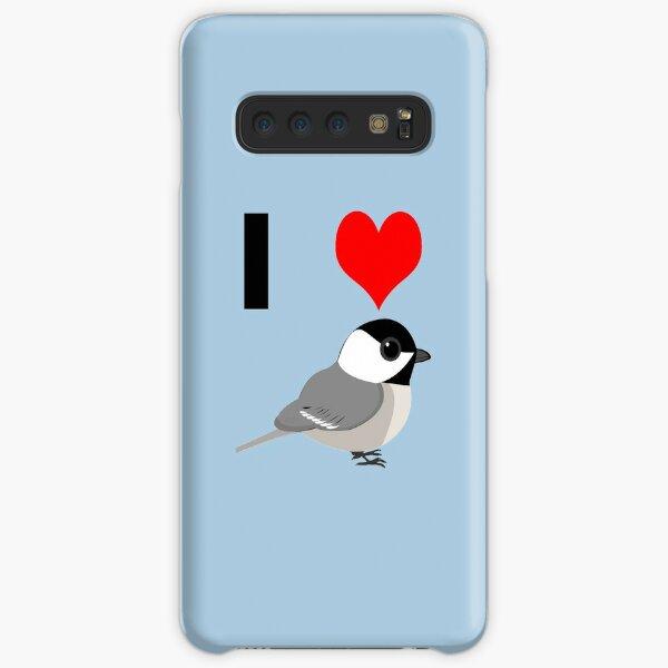 I heart Chickadees Samsung Galaxy Snap Case