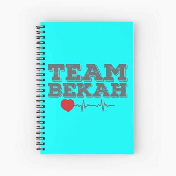 TEAM Bekah 2 Spiral Notebook