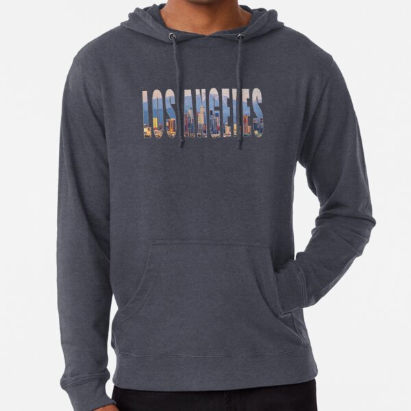 Los Angeles Skyline Lightweight Hoodie