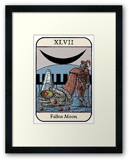Fallen Moon by Ellis Nadler