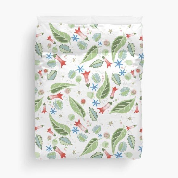 Tasmanian Flowers Duvet Cover