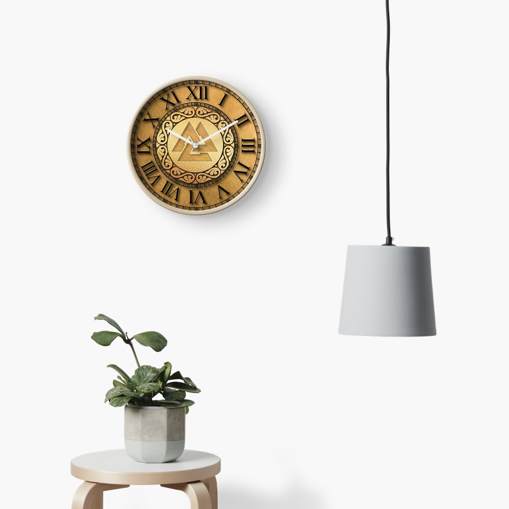 Viking Spirit Clock Clock