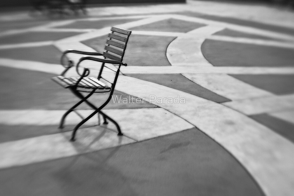 Morning Chair by Walter Parada
