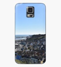 Sunny landscape of the 'west hill' - (From East Hill, Hastings, East Sussex, UK) Case/Skin for Samsung Galaxy