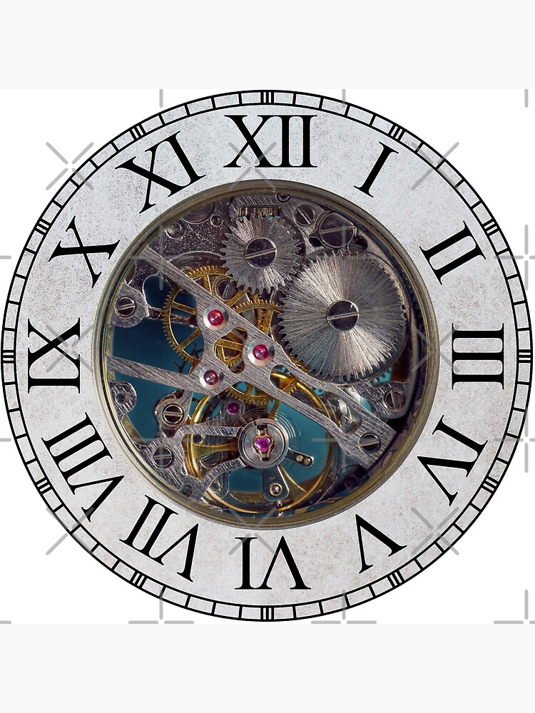 Steampunk Gears Clock by FantasySkyArt