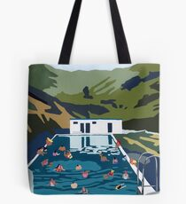 Mountain pool Tote Bag