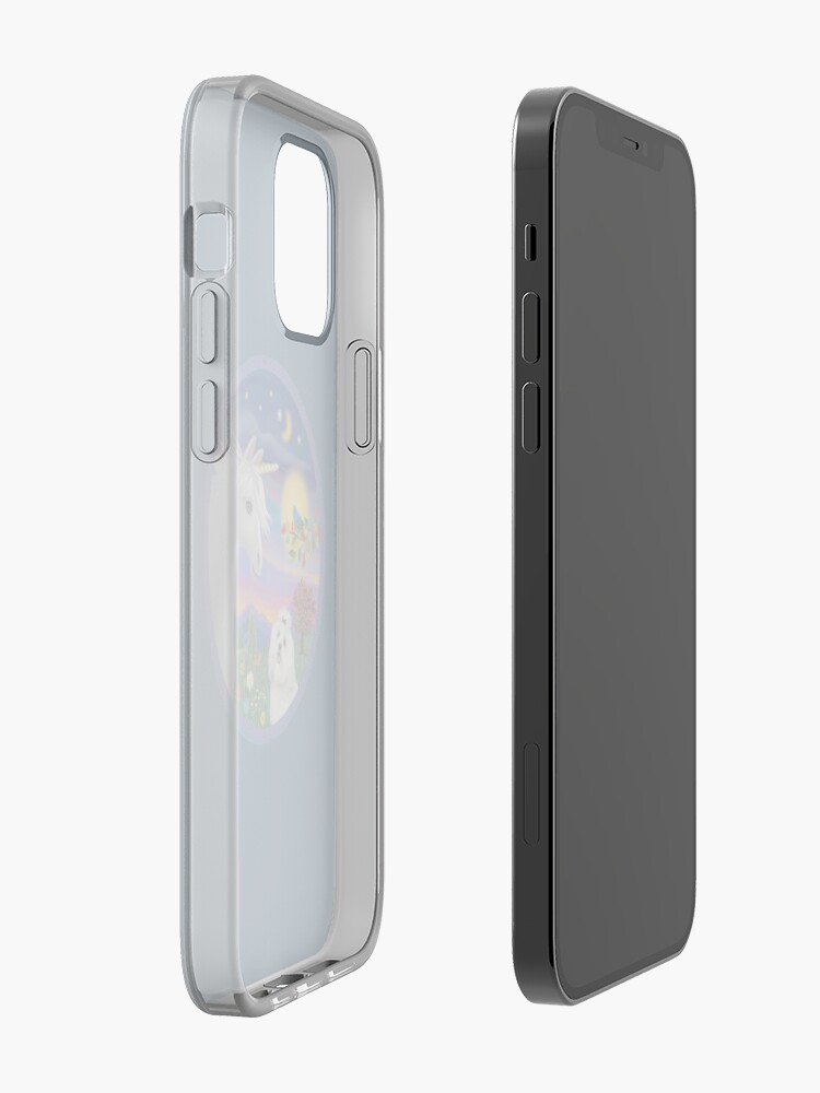 Alternate view of Unicorn and Maltese iPhone Case & Cover