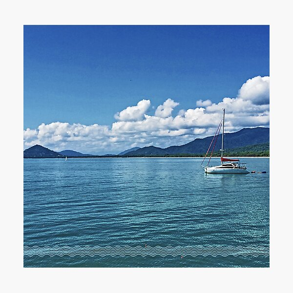 Tropical Blues Photographic Print