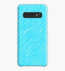 19 Blue Scratch Case/Skin for Samsung Galaxy