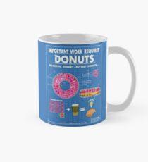 Donut Blueprint Mug