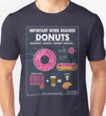 Donut Blueprint T-Shirt