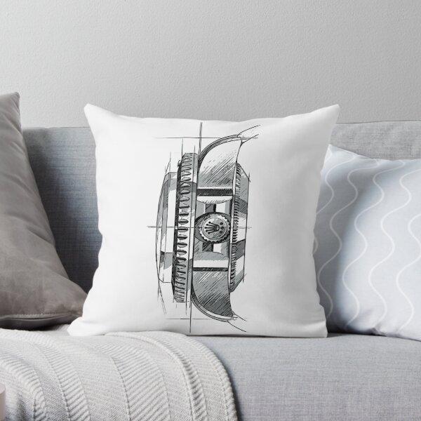 ROLEX WATCH Throw Pillow