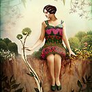 Ace of Pentacles by Catrin Welz-Stein