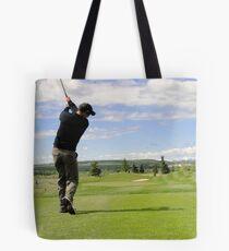 Golf Swing D Tote Bag